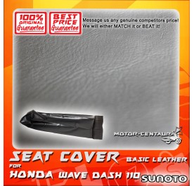 SUNOTO SEAT COVER [BASIC] HONDA WAVE DASH BLACK