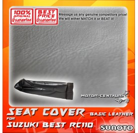 SUNOTO SEAT COVER [BASIC] SUZUKI BEST RC110 BLACK