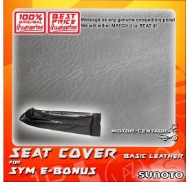 SUNOTO SEAT COVER [BASIC] SYM E BONUS BLACK
