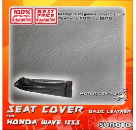 SUNOTO SEAT COVER [BASIC] HONDA WAVE 125S BLACK