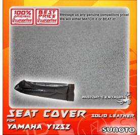 SUNOTO SEAT COVER [SOLID LEATHER] YAMAHA Y125Z BLACK