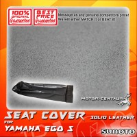 SUNOTO SEAT COVER [SOLID LEATHER] YAMAHA EGO S BLACK