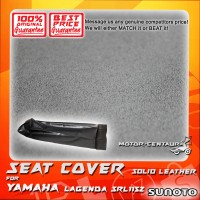 SUNOTO SEAT COVER [SOLID LEATHER] YAMAHA LAGENDA SRL115Z BLACK