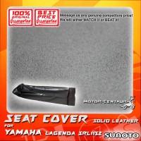 SUNOTO SEAT COVER [SOLID LEATHER] YAMAHA LAGENDA SRL115Z BLACK