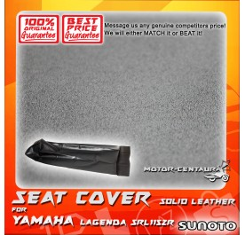 SUNOTO SEAT COVER [SOLID LEATHER] YAMAHA LAGENDA SRL115ZR BLACK