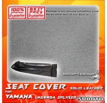 SUNOTO SEAT COVER [SOLID LEATHER] YAMAHA LAGENDA SRL115ZR BLACK