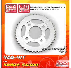 SSS REAR SPROCKET STEEL RS150R 428-41T