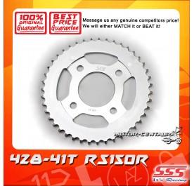 SSS REAR SPROCKET STEEL RS150R 428-41T
