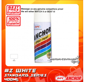 ANCHOR SPRAY [2] WHITE 400ML