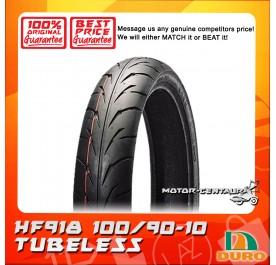 DURO TUBELESS TYRE HF918 100/90-10