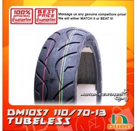 DURO TUBELESS TYRE DM1057 110/70-13
