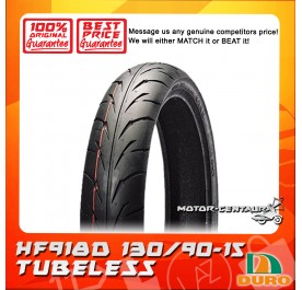 DURO TUBELESS TYRE HF918D 130/90-15