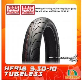 DURO TUBELESS TYRE HF918 3.50-10