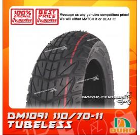 DURO TUBELESS TYRE DM1091 110/70-11