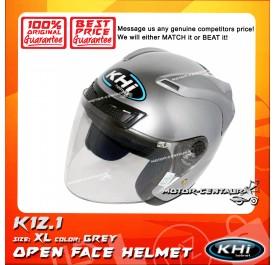KHI HELMET K12.1 GREY XL