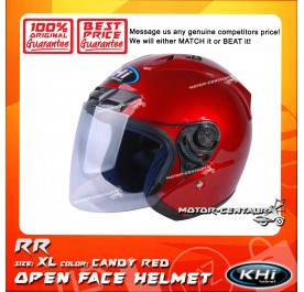 KHI HELMET RR CANDY RED XL