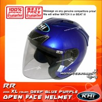 KHI HELMET RR DEEP BLUE PURPLE XL