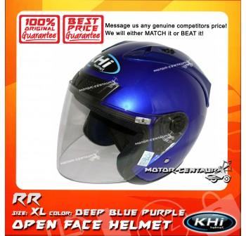 KHI HELMET RR DEEP BLUE PURPLE XL