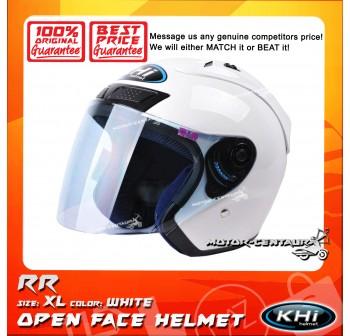 KHI HELMET RR WHITE XL