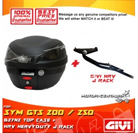 GIVI B27N2 TOP CASE + GIVI SYM GTS 200 / 250 HRV HEAVY DUTY RACK