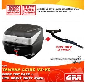 GIVI B32N TOP CASE + GIVI YAMAHA LC135 V2-V5 HRV HEAVY DUTY RACK