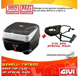 GIVI B32N TOP CASE + GIVI BENELLI TNT600 SR SPECIAL RACK