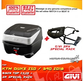 GIVI B32N TOP CASE + GIVI KTM DUKE 250 / 390 2018 SRV SPECIAL RACK