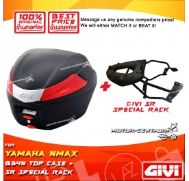 GIVI B34N TOP CASE + GIVI YAMAHA NMAX 150 / 155 SRV SPECIAL RACK