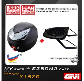 GIVI E250N2 TOP CASE + GIVI YAMAHA Y15ZR MV MONORACK