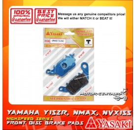 YASAKI DISC BRAKE PAD [GRAND FILANO] Y15ZR (FRONT), NMAX