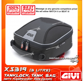 GIVI TANKLOCK XSTREAM TANK BAG XS319 3LT