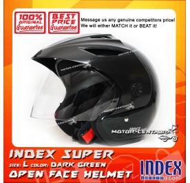 INDEX SUPER HELMET DARK GREEN