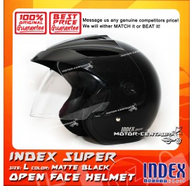 INDEX SUPER HELMET MATT BLACK
