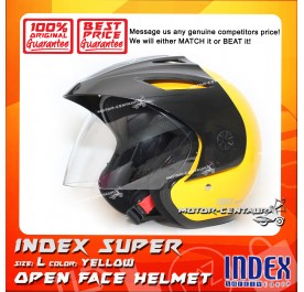 INDEX SUPER HELMET YELLOW