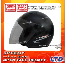 LTD HELMET SPEEDY BLACK