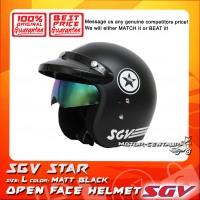 SGV HELMET STAR MATT BLACK
