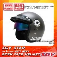 SGV HELMET STAR MATT GREY