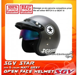 SGV HELMET STAR MATT GREY