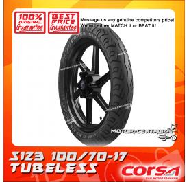 CORSA TUBELESS TYRE S123 100/70-17
