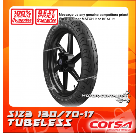 CORSA TUBELESS TYRE S123 130/70-17