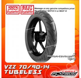 CORSA PLATINUM TUBELESS TYRE V22 70/90-14