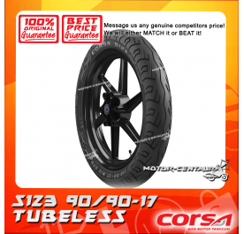 CORSA TUBELESS TYRE S123 90/90-17