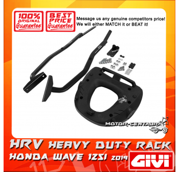 GIVI HEAVY DUTY RACK HRV HONDA WAVE 125i 2019