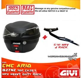 GIVI B27N2 TOP CASE + GIVI CMC ARIO 110 HRV HEAVY DUTY RACK
