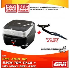 GIVI B32N TOP CASE + GIVI CMC ARIO 110 HRV HEAVY DUTY RACK
