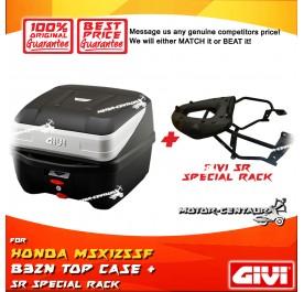 GIVI B32N TOP CASE + GIVI HONDA MSX125SF 2018 SR SPECIAL RACK