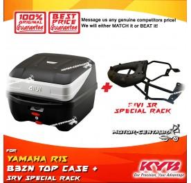 GIVI B32N TOP CASE + GIVI YAMAHA R15 SRV SPECIALRACK