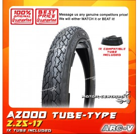 ARC-V TYRE A2000 2.25-17 WITH FKR TUBE