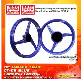 COMSTAR SPORT RIM CT-03 1.60X17(F) 1.85X17(R) Y125Z BLUE