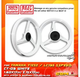 COMSTAR SPORT RIM CT-03 1.60X17(F) 2.15X17(R) Y125Z WHITE